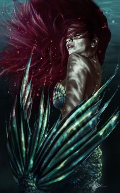 "Mermaid by tansy9.deviantart.com on @DeviantArt - Ariel from ""The Little Mermaid"""