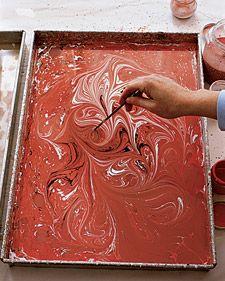 stirring marble bath