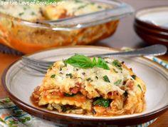 ... Italian Recipes on Pinterest | Sausage lasagna, Ravioli lasagna and