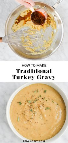 This complete guide will leave you ready to whip up the best gluten-free turkey gravy your Thanksgiving guests have ever tasted! Thanksgiving Gravy, Gluten Free Thanksgiving, Thanksgiving Recipes, Holiday Recipes, Best Turkey Gravy, Making Turkey Gravy, Gluten Free Gravy, Fed And Fit, Food To Make