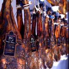 Pata negra jamón - artisan cured ham from Andalucía, Spain. (Photo Andrew Forbes)