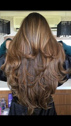 Hair cuts long wavy ombre super ideas hairstyles long for long long hairstyles hair braids hair curls hair cut with layers hair ideas hair styles hair volume long hair Haircuts For Long Hair With Layers, Long Layered Haircuts, Straight Hairstyles, Long Brown Hair, Long Wavy Hair, Long Layer Hair, Dark Hair, Super Long Hair, Beautiful Long Hair