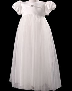 Baby girls christening gown Cherry by Millie Grace ages 0-3 m to 6-12 m