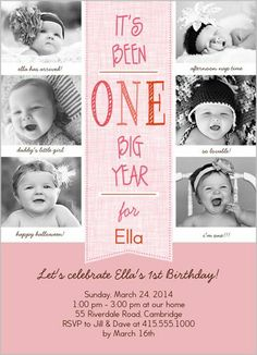 Baby Girl 1st Birthday Fun First Parties Birthdays