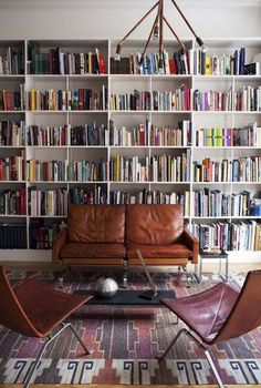 Is there anything better, on a cold day, than curling up on the couch with some hot tea in a cozy room, surrounded by books