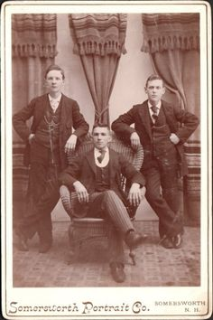 A collection of Cabinet Cards and Tin Types . Dapper Suits, Mens Suits, Suit Men, Photo Black, Find Picture, Hairy Men, Vintage Pictures, Old Photos, Black And White