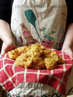 Ute McGillivray's Beer Battered Corn Fritters: Light, crispy fritters that would do the old German bag proud