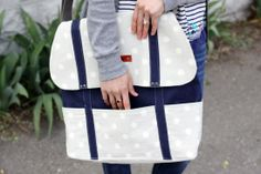 The Cooper Bag by Erin from Sewbon #sewing #ssw #colettepatterns #bags