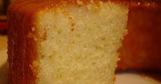 Receita Bolo de arroz cru com kefir
