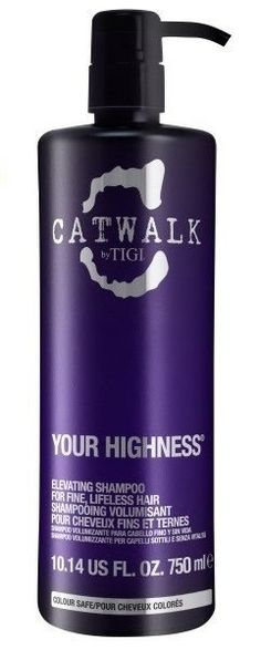 VOLÜÜMI ANDEV ŠAMPOON TIGI CATWALK YOUR HIGHNESS ELEVATING 750 ML HIND JA INFO