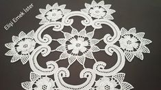 Crochet Flowers, Crochet Lace, Baby Knitting Patterns, Projects To Try, Color, Crochet Doilies, Towels, Dish Towels, Table Toppers