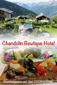 Einmal Wallis – immer wieder Wallis! Deshalb haben wir das Chandolin Boutique Hotel im Val d'Anniviers besucht, und wären am liebsten geblieben. Ein wirklich tolles Hotel an traumhafter Lage, umgeben von herrlicher Walliser Natur. Wir schwelgen noch ein wenig... ;-) Wallis, Tolle Hotels, New Details, Boutique, Gourmet, Fresh, Nature, Boutiques