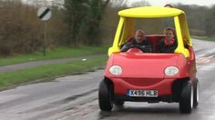 BBC News - Adult-sized 'Little Tikes' takes to the road