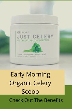 Celery Juice Benefits, Crazy Wrap Thing, Make It Simple, Improve Yourself, It Works, Powder, Keto, Nutrition, Organic
