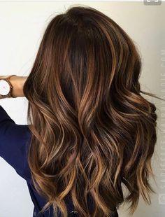Image result for medium thin layered hair balyage