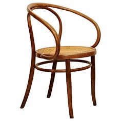 Thonet 209 Armchair by Auguste Thonet for Thonet, circa 1900 | From a unique collection of antique and modern chairs at https://www.1stdibs.com/furniture/seating/chairs/