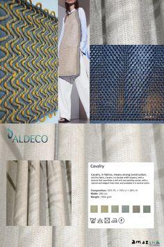EN: Cavalry is a double width, textured and opaque drapery fabric with natural linen look. Available in 6 beautiful and natural colors. PT: Cavalry é um tecido com dupla largura. A sua estrutura é texturada, pesada e opaca, com uma aparência muito natural. Este tecido está disponível em 6 lindas cores mescladas e naturais. #ALDECO #MOODBOARD #INTERIORFABRICS #CAVALRY #AMAZINK #HOMEDECOR #FABRICS #INTERIORISMO #INTERIORDESIGN #STYLE #HOME #LIFESTYLE www.aldeco.pt