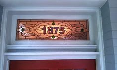 Stained Glass Transom window  Traditional by TerrazaStainedGlass, $375.00