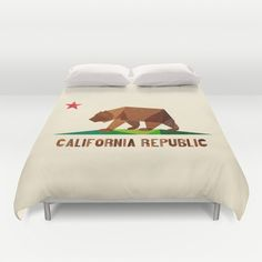 California Duvet Cover by Fimbis - $99.00