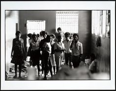 When a group of young women in rural Georgia were placed under lock and key after protesting segregation at the local library, photos like the one above, which was snapped through the bars by new journalism pioneer Danny Lyon, helped secure their release. African American Girl, American Girls, African Women, Coloured People, Civil Rights Movement, National Museum, Black People, Lyon, Black Girls