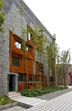 Sky Courts - Chengdu, China - 2011 - Höweler + Yoon Architecture architectural design, buildings, architecture design idea and inspiration Facade Architecture, Amazing Architecture, Contemporary Architecture, Landscape Architecture, Chengdu, Facade Design, Exterior Design, Pintura Exterior, Building Facade