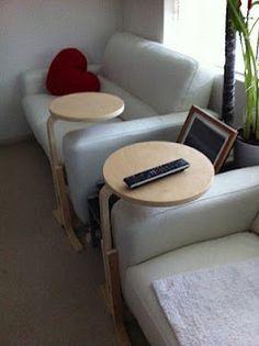 IKEA hacked side tables