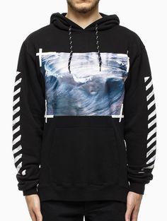 Waves hooded sweatshirt