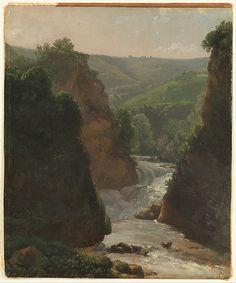 Simon Denis | Aniene River at Tivoli | The Met