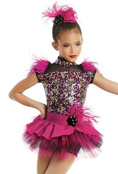 Dance Costume Small 6x-7 or Large Child Lavender//Pink Sequin Jazz Tap TRIO