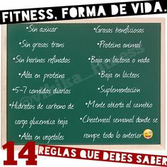 Instagram media by vikikacosta - #fitnessrules #fitnesslife #fitness #reglasfitness #vidasana