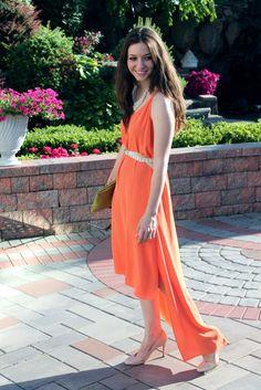 1-053 High Low, Wrap Dress, Summer Dresses, Blog, Fashion, Summer Sundresses, Moda, Sundresses, Wrap Around Dress