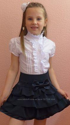 Школьная форма девочкам   Галерея пользователя Lenchik-M Baby Girl Party Dresses, Baby Dress, Girls Dresses, Flower Girl Dresses, Kids Party Wear, Little Girl Skirts, Kids Blouse Designs, Casual Skirt Outfits, School Girl Outfit
