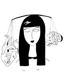 "Francesca Manuguerra's draw ""razionalità"""