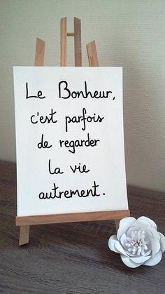 affiche citation Le Bonheur