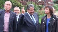 SPD-Chef: Gabriel verteidigt Stinkefinger gegen Neonazis - SPIEGEL ONLINE - Nachrichten - Politik