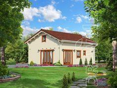 Mazurek IX z dobudówką - Domki ogrodowe - DREWNEX Barn Plans, Home Fashion, Gazebo, Outdoor Structures, Cabin, House Styles, Home Decor, Kiosk, Decoration Home