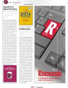 La recensione del libro su Ristorando.eu Computer Keyboard, Marketing, Electronics, Self, Computer Keypad, Keyboard, Consumer Electronics