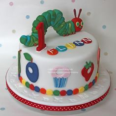 hungry+caterpillar+cake | The Very Hungry Caterpillar Cake
