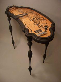 Oujia Board Slide Guitar :: Nicholas Holcomb