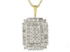 #jewelry #Fashionnews #Womensfashion #Womensstyle #Fashion #Unitedstate #USA 10K Yellow Gold 1 Carat Baguette and Round