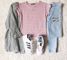 Imagen de outfit, fashion, and adidas