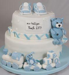 Baby Baptism Cake Torte Bub Taufe
