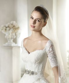 Style * SILA * » Wedding Dresses » Dreams 2015 Collection » by San Patrick (close up)