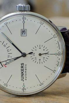 Junkers Bauhaus 6060 automatic by iaintookey classy-captain