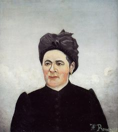 Henri Rousseau - Portrait of a woman (1905)