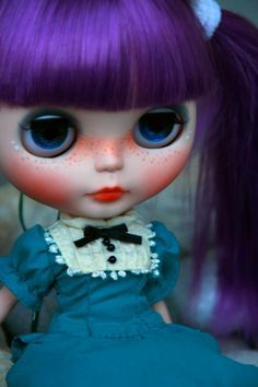 blythe purple hair - Google Search