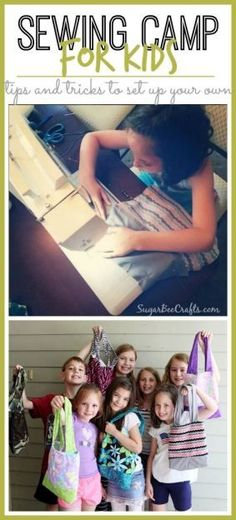 tips and tricks to run your own sewing camp for kids this summer - - Sugar Bee Crafts
