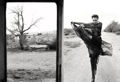 Fashion Editorial | Laid Bare in the Desert - NOWFASHION