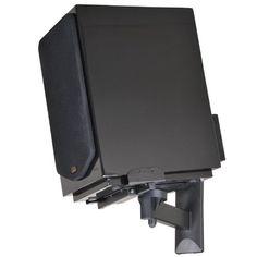 VideoSecu One Pair of Side Clamping Bookshelf Speaker Mounting Bracket with Swivel and Tilt for Large Surrounding Sound Speakers Bookshelf Speakers, Bookshelves, Speaker Mounts, Sound Speaker, Audio Equipment, Mounting Brackets, Easy Install, Tilt