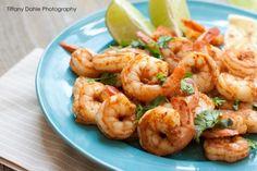 Quick and spicy shrimp